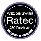 Wedding Wire rated.